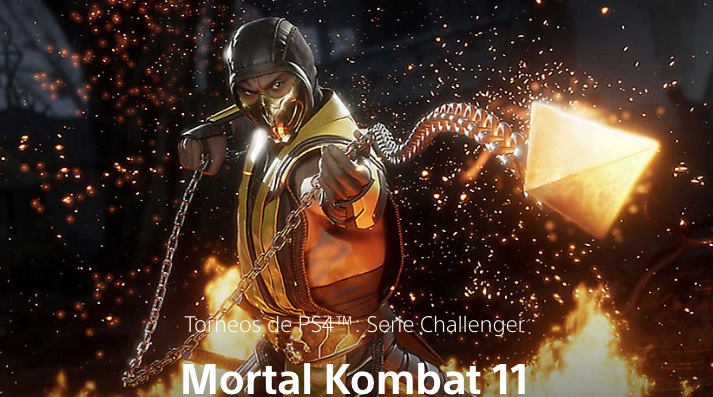 PS4 Tournaments Series Challenger de Mortal Kombat 11: Gana hasta $1,000 dólares