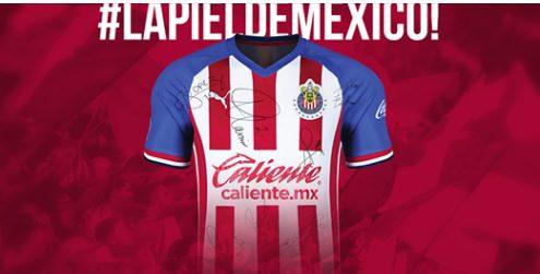 Gana 1 de 5 jerseys autografiados de las Chivas en el concurso de Más Rojiblanco