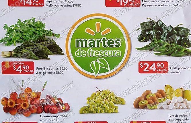 Walmart Martes de Frescura 13 de agosto 2019