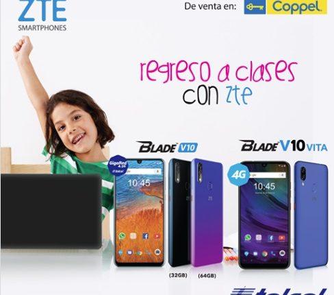 Promoción ZTE y Coppel Regreso a Clases 2019: Gana 1 de 20 laptops HP