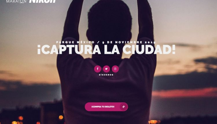 Concurso Foto Maratón Nikon CDMX 2019: Gana cámaras y más de $150,000 en premios