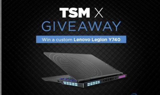 Giveaway Freaks 4U: Gana 1 de 7 laptops gamer Lenovo Legion Y740