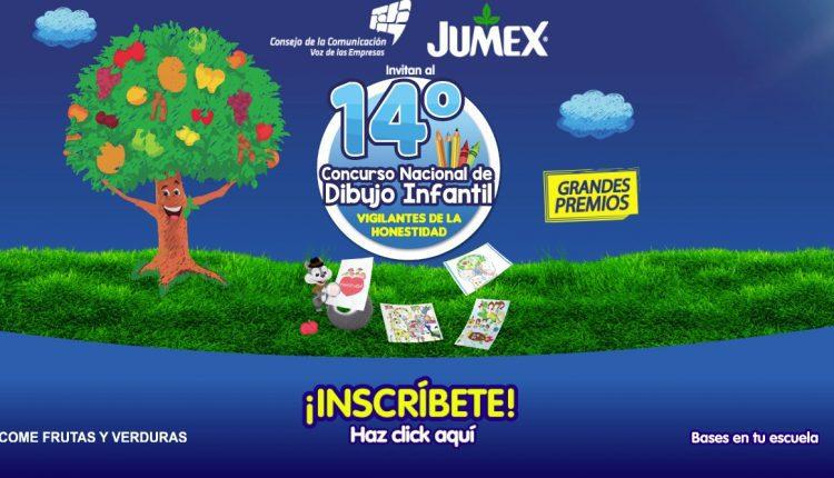 14º Concurso Nacional de Dibujo Infantil Jumex 2019: Gana premios sorpresa en concursodedibujo.org