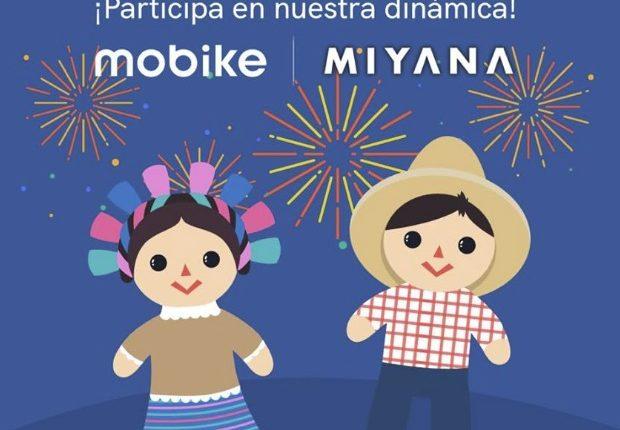 Concurso Mobike y Miyana Mes Patrio: Gana 1 de 3 planes Mobike