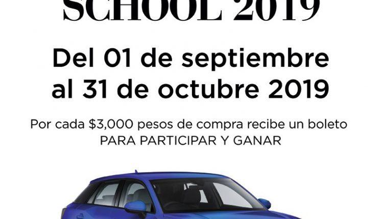 Sorteo Saks Back to School 2019: Gana una camioneta Audi Q2