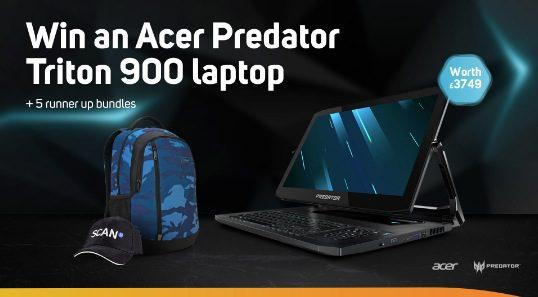 Giveaway Scan: Gana laptop gamer Acer Predator Triton 900 con valor de más de $90,000