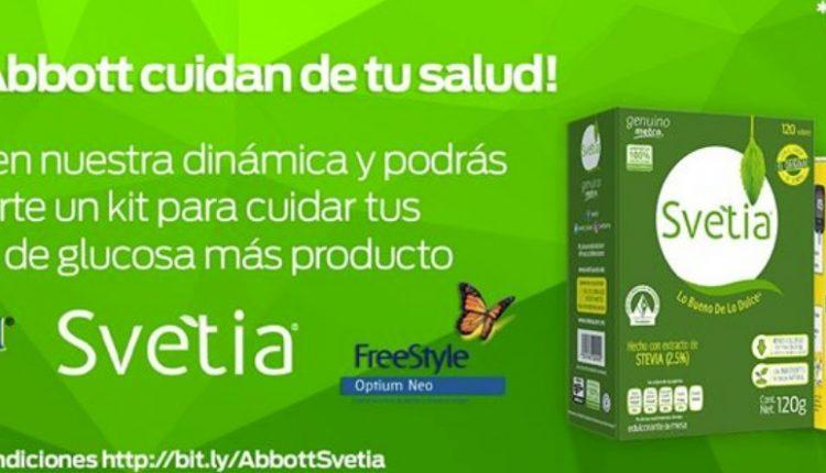 Concurso Svetia y Abbott: Gana un kit para cuidar tu glucosa que incluye glucómetro y más