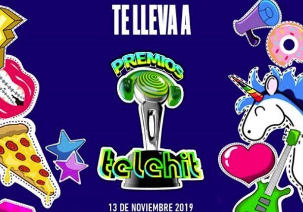 Gana 1 de 240 boletos dobles para los Premios Telehit 2019 cortesía de Blim