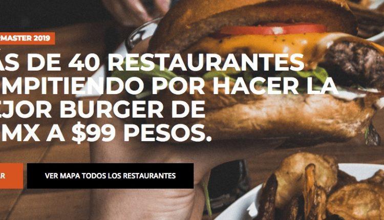 Concurso Burger Master 2019: Vota y gana viaje a Cancún, vuelos redondos y más en burgermastermx.com