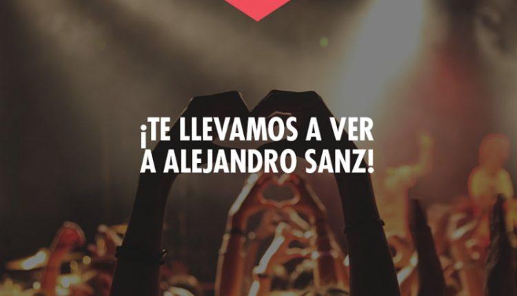 Concurso Jueves de Centro Santa Fe 10 de octubre: Gana boletos para el concierto de Alejandro Sanz