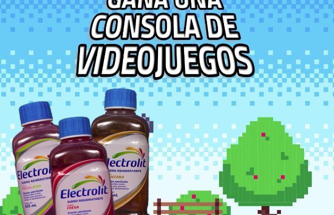 Concurso Electrolit: Gana una consola de videojuegos