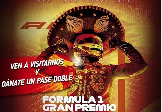 Gana boletos gratis para el Gran Premio de Formula 1 en México con Granja las Américas