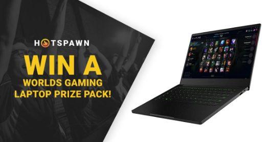 Giveaway Hotspawn de League of Legends Worlds 2019: Gana laptop gamer Razer Blade Stealth 13″ y más