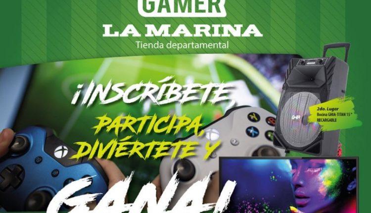 Torneo Gamer La Marina 2019: Gana pantalla, bocina y más
