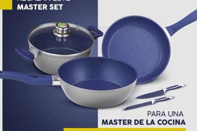 Concurso Lechugas Eva: Gana un Master Set Flavor Stone color Mayan Blue