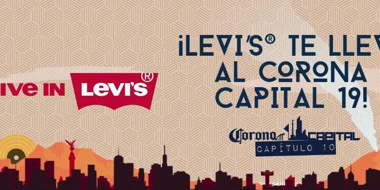 Gana boletos gratis al Corona Capital 2019 en el concurso de Levi's