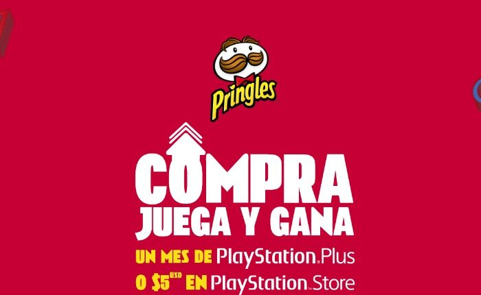 Promoción Pringles PlayStation 2019: registra tu código en promopringles.com y gana 1 mes de PS Plus o $5 en PS Store