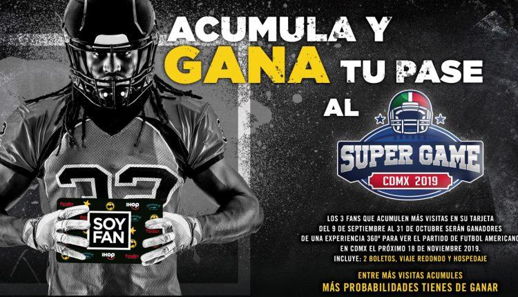 Concurso Soy Fan NFL 2019: Gana viaje al partido en México Kansas City Chiefs vs. LA Chargers