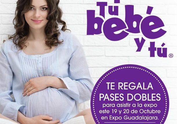 Gana boletos dobles para la Expo Tu Bebé y Tú en Expo Guadalajara