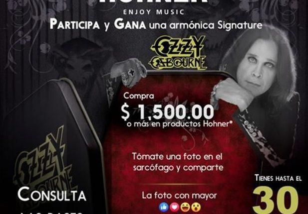 Concurso Veerkamp  y Hohner: Gana una armónica Signature Ozzy Osbourne