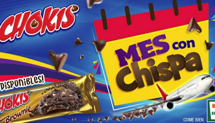 Promoción Chokis 7-Eleven Mes con Chispa: Gana uno de los 7 viajes a Cancún