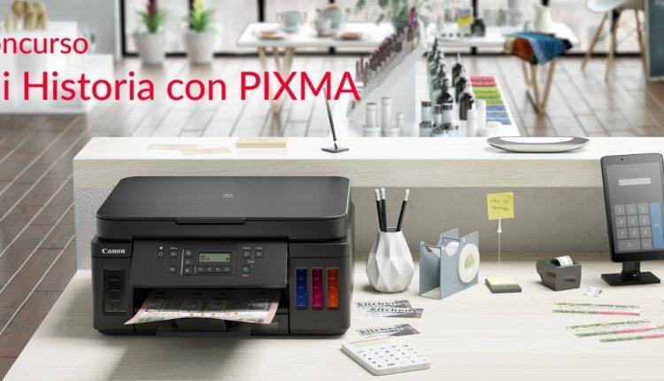 Concurso Canon Mi Historia con Pixma: Gana una impresora portátil PV-123