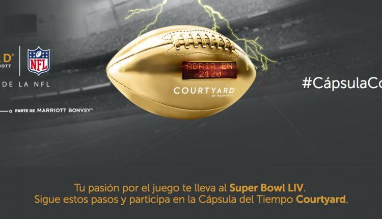 Concurso Cápsula Courtyard: Gana viaje al Super Bowl LIV en capsulacourtyard.com