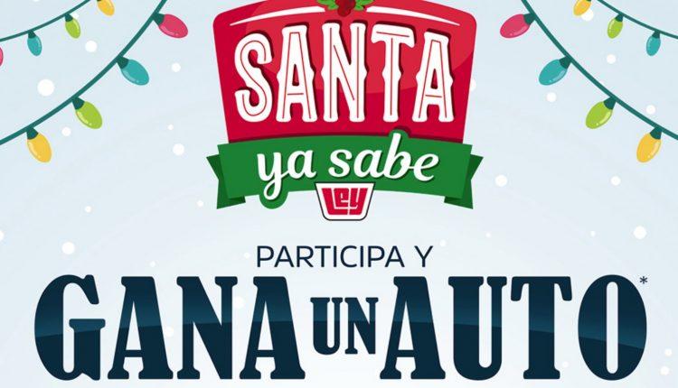 Promoción Casa Ley Navidad 2019 Santa ya Sabe: Gana un Nissan March 2020 o celulares iPhone 11 en casaley.com.mx