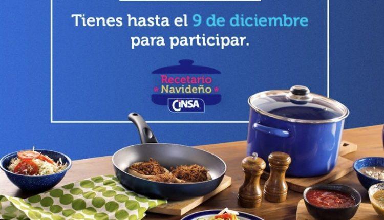 Gana un kit de cocina de más de $3,000 en el concurso del Recetario Navideño 2019 de Cinsa