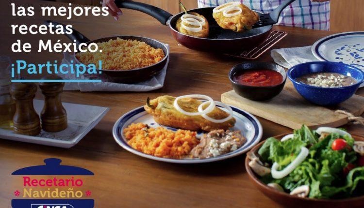 Concurso Cinsa Recetario Navideño: Gana que tu receta aparezca en el recetario