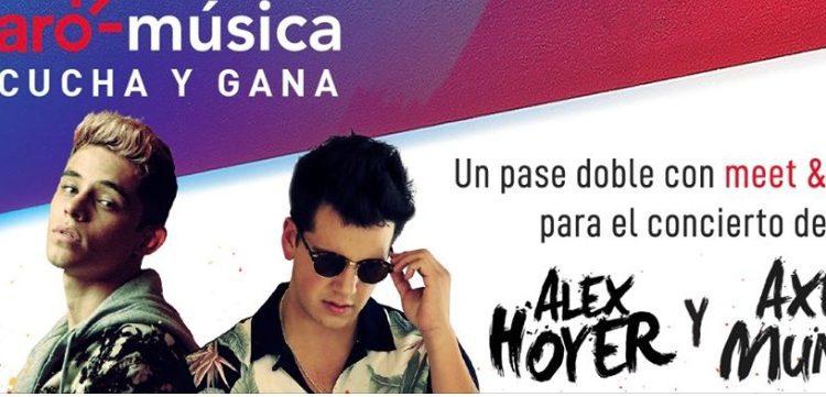 Concurso Claro Música: Gana experiencias y meet & greet con Alex Hoyer y Axel Muñiz