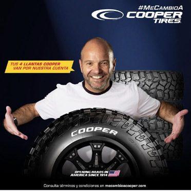 Concurso Cooper Tires: Gana juegos 4 llantas Cooper gratis