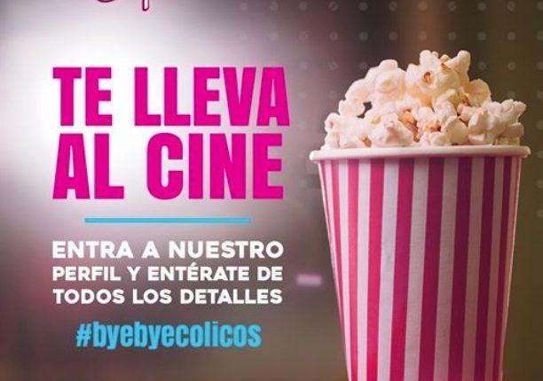 Concurso Espadiva Bye Bye Cólicos: Gana boletos dobles para Cinépolis