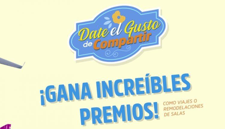 Promoción Gamesa Clásicas Date el Gusto de Compartir: Ingresa tu código y gana viajes o remodelaciones en gamesa.com.mx