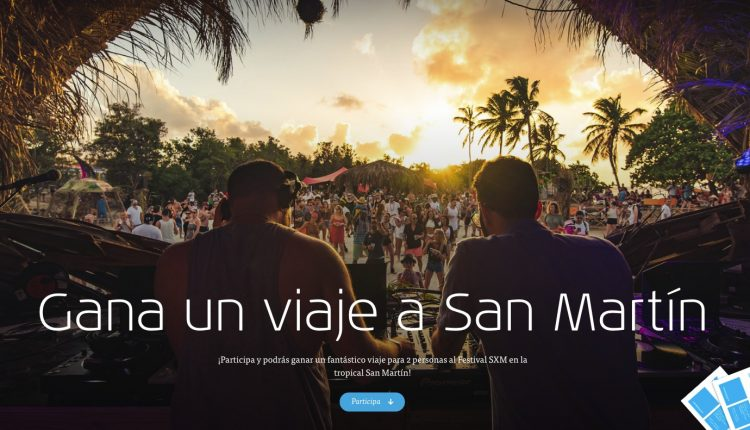 Concurso KLM: Gana viaje para 2 personas al Festival SXM en la Isla de San Martín