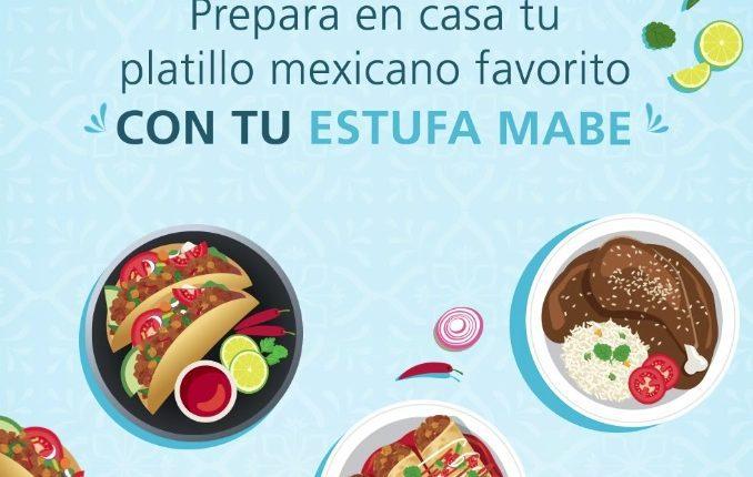 Concurso Mabe Cocina Mexicana: Gana estufa u horno de microondas