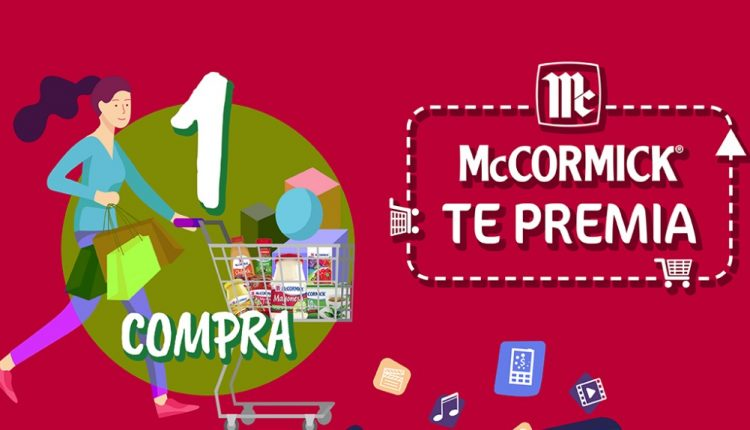 Promoción McCormick te Premia: Gana McPesitos para pago de servicios, tiempo aire y más en mccormick-te-premia.mx