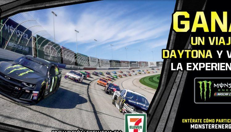 Promoción 7-Eleven Monster Energy: Gana viaje a Daytona a la Nascar Cup en monsterenergy.com