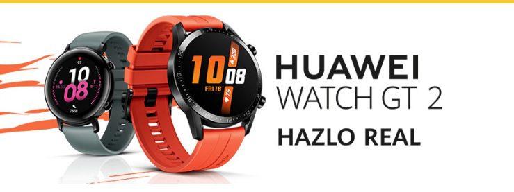 Concurso Oxxo Zoé Water: Gana 1 de 10 relojes Huawei Watch GT 2
