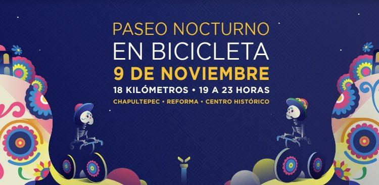 Concurso de disfraces Paseo Nocturno Noche de Muertos en Bicicleta 2019: Gana bicicletas y scooters