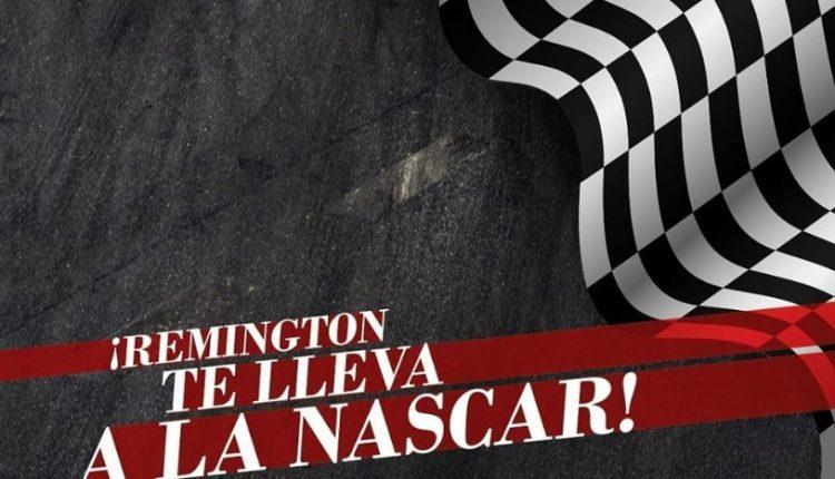 Boletos Gratis para la carrera de la Nascar en CDMX cortesía de Remington Men