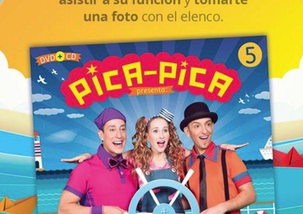 Sanborns te invita al show de los Pica Pica y a tomarte la foto con ellos