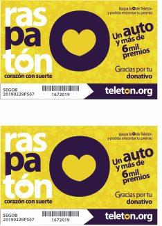 Concurso Teletón 2019 Raspatón: Gana un auto y más de 6 mil premios