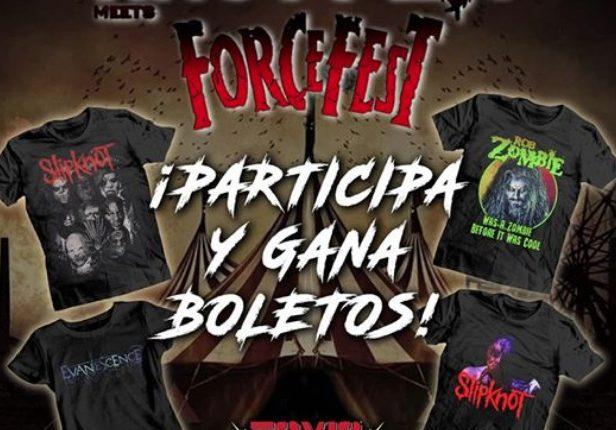 Gana boletos para el Knotfest meets Forcefest México cortesía de Toxic