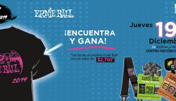 Rally 2019 Ernie Ball de Veerkamp: Gana un kit de accesorios Ernie Ball con valor de $2,700 pesos