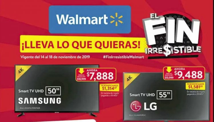 El Buen Fin 2019 en Walmart
