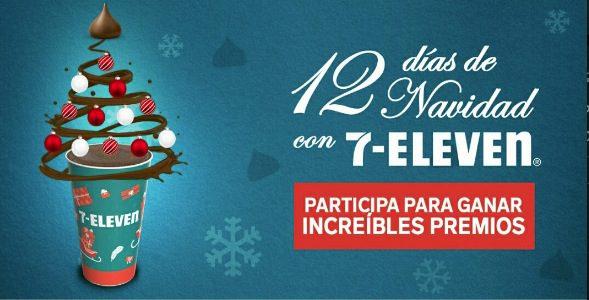 Promoción 7-Eleven Hersheys 12 Días de Navidad: Gana pantallas, iPad, PS4 y más
