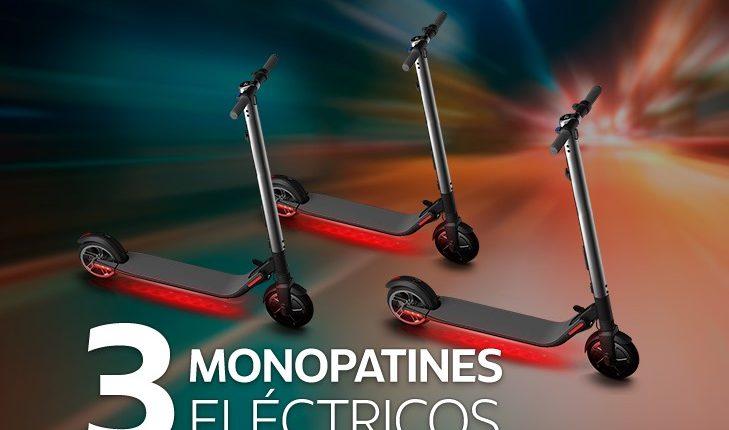 Concurso Club AMC: Gana 1 de 3 monopatines eléctricos