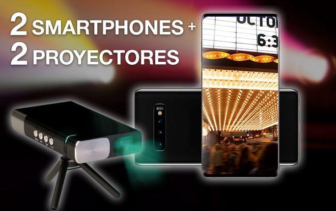 Concurso Film & Arts Diciembre: Gana 1 de 2 paquetes de smartphone de última generación + proyector HD