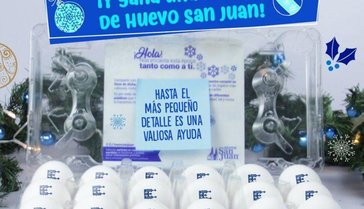 Concurso San Juan: Gánate una maleta de huevo San Juan